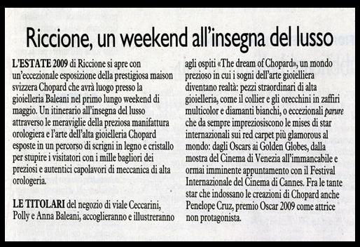 Riccione, un weekend all'insegna del lusso